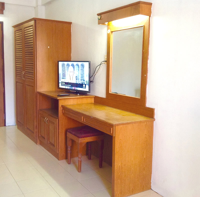 Storage TV and Dressing Table